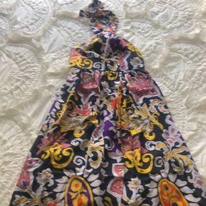 Jcrew halter neck dress
